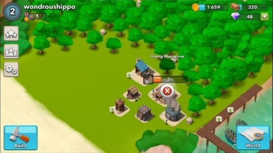 Boom Beach es un juego similar a Clash of Clans
