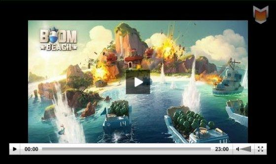 Gameplay de Boom Beach para iPhone