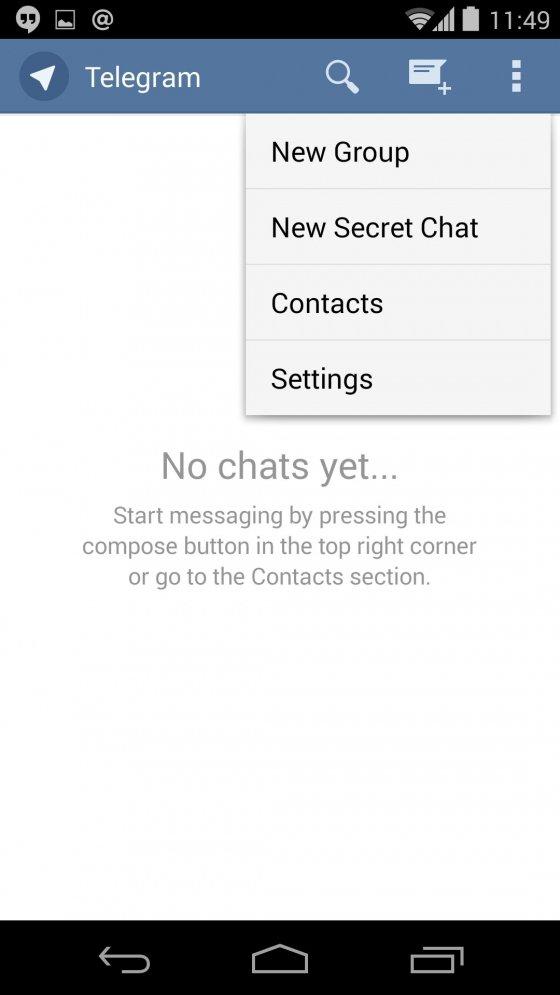 Privacidad de Telegram