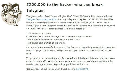 Seguridad Telegram