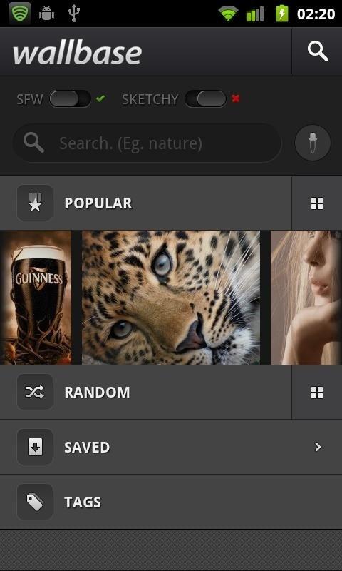 Wallbase para Android