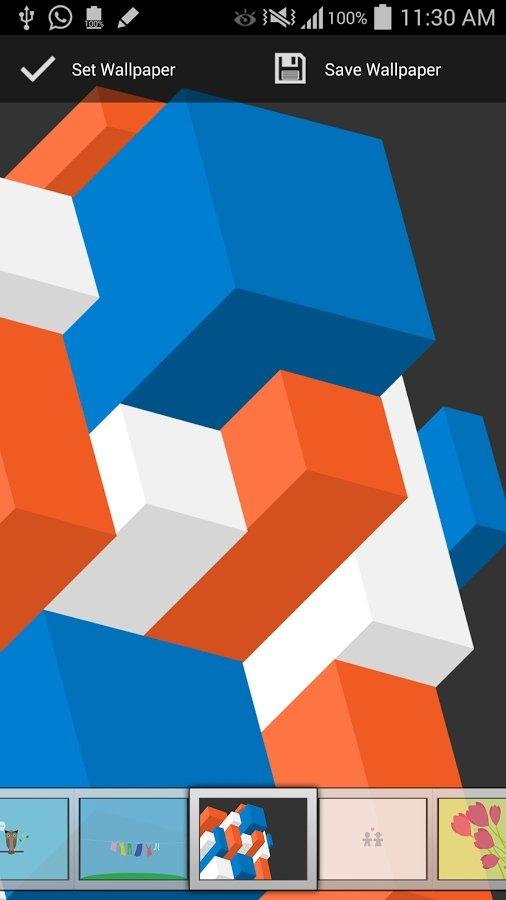 Minimal Wallpapers para Android