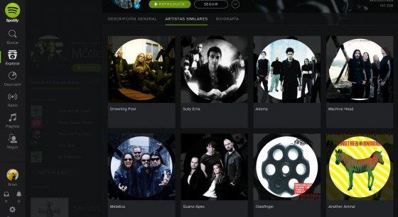 Nuevos cambios en Spotify