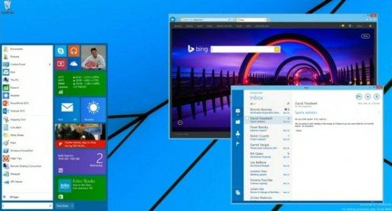 Botón y menú de inicio de Windows 8.1