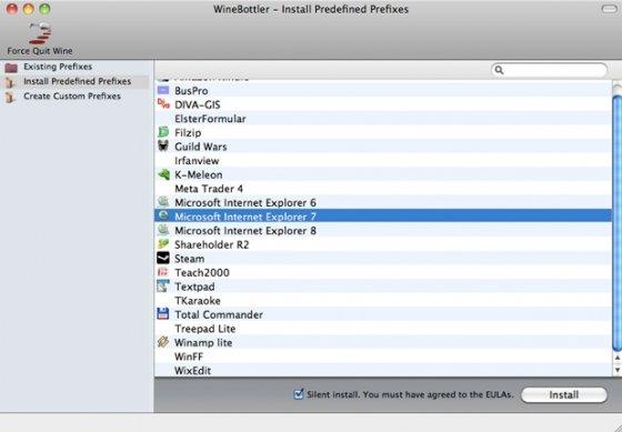 WineBottler puede hacer que ejecutes aplicaciones de Windows en Mac