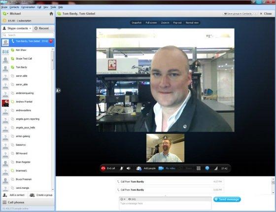 Skype se ha convertido en el referente de la videollamada