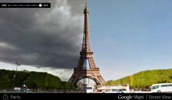 Google permite viajar en el tiempo en Google Maps