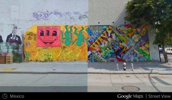 Recorre distintas imágenes a lo largo del tiempo en Google Maps y Google Earth