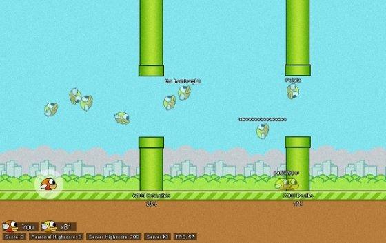 FlapMMO Flappy Bird
