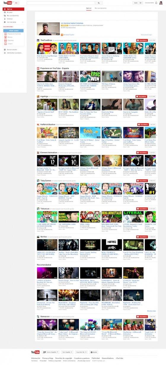 YouTube en 2014