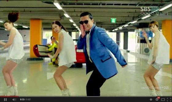 El Gangnam Style triunfó en YouTube