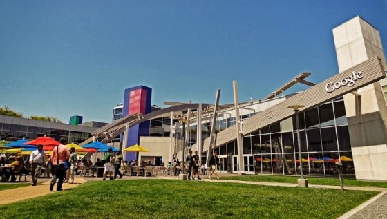 Googleplex es el cuartel general de Google en California