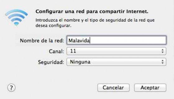 En Opciones de Wi-Fi podemos configurar la red inalámbrica