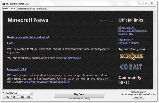 Minecraft con Java instalado 2