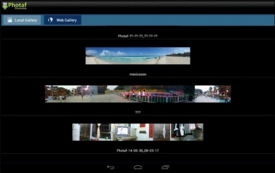 Photaf para Android
