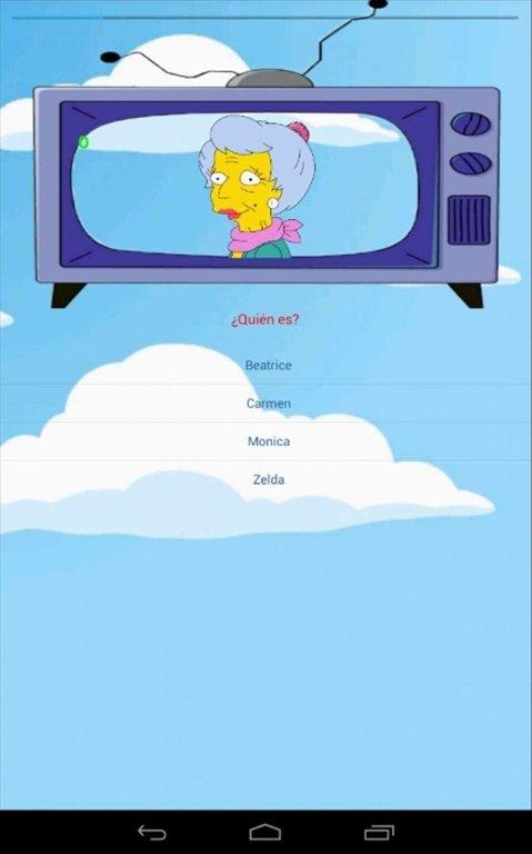 Juegos de tipo Trivial - Simpson