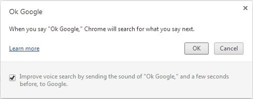Ya tenemos OK Google habilitado para Chrome