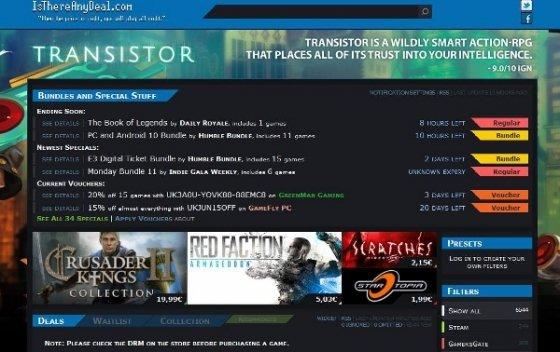 Ofertas de IsThereAnyDeal.com