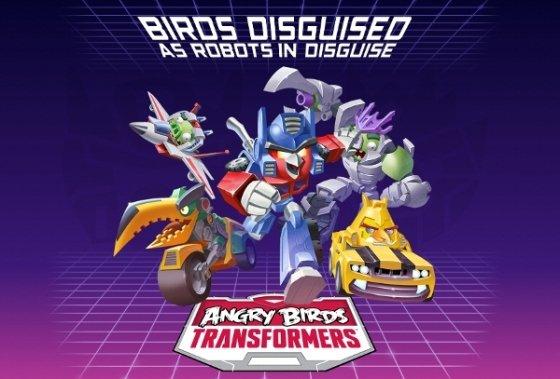 Presentación de Angry Birds Transformers