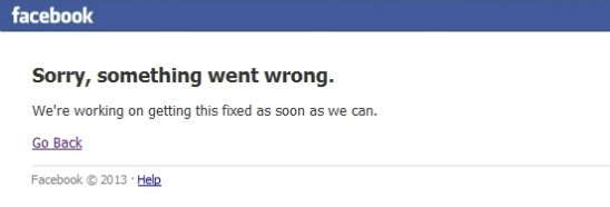 Cae Facebook