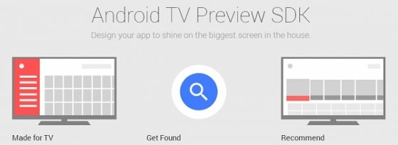Android TV Preview SDK