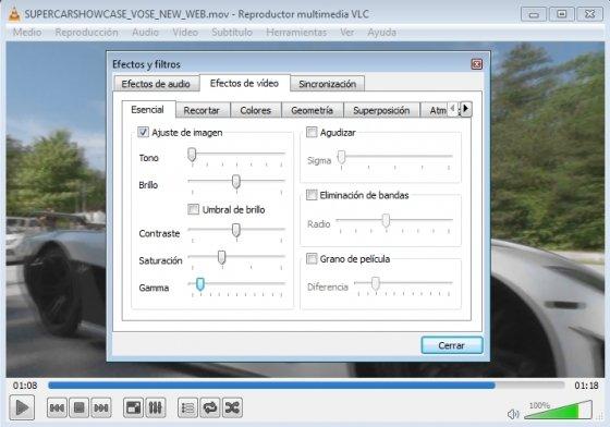 Características VLC Media Player