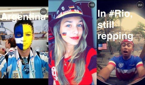Snaps compartidos durante la final del Mundial 2014