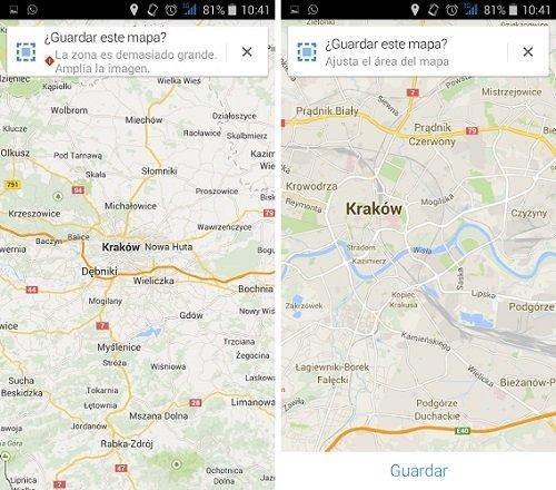 Cómo descargar mapas de Google Maps