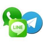 Primeras cifras de Telegram: ¿qué lugar ocupa respecto a sus competidores WhatsApp y LINE?