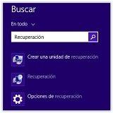 Crear una imagen del sistema para Windows 8