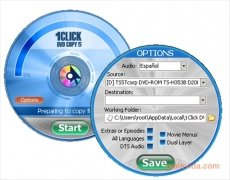 1Click DVD Copy imagen 2 Thumbnail