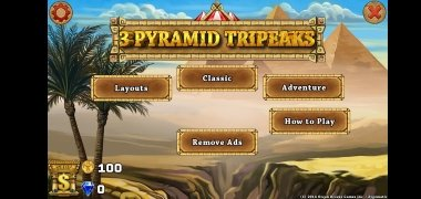 3 Pyramid Tripeaks Solitaire imagen 2 Thumbnail