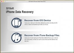 321Soft iPhone Data Recovery imagen 1 Thumbnail