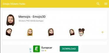 3D Animated Emojis Stickers image 1 Thumbnail