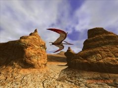 3D Canyon Flight Screensaver image 1 Thumbnail