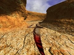 3D Canyon Flight Screensaver image 2 Thumbnail