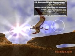 3D Canyon Flight Screensaver imagem 3 Thumbnail