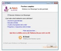 A-Patch Windows Live Messenger imagem 4 Thumbnail