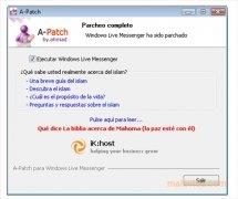 A-Patch Windows Live Messenger imagen 4 Thumbnail