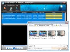 ABest Video to MOV MPEG Converter immagine 3 Thumbnail