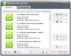Absolute Audio Converter Изображение 1 Thumbnail