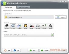 Absolute Audio Converter immagine 2 Thumbnail