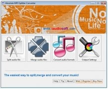 Absolute MP3 Splitter Converter Изображение 1 Thumbnail