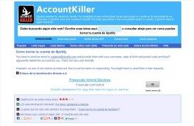 AccountKiller bild 2 Thumbnail