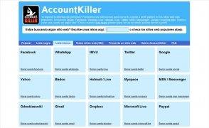 AccountKiller bild 3 Thumbnail