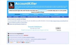 AccountKiller immagine 5 Thumbnail