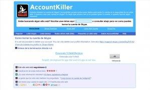 AccountKiller bild 5 Thumbnail
