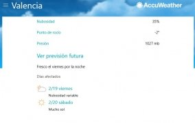 AccuWeather immagine 3 Thumbnail