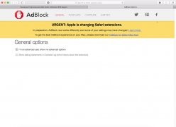 Adblock Plus per Safari immagine 3 Thumbnail