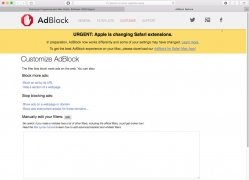 Adblock Plus per Safari immagine 5 Thumbnail